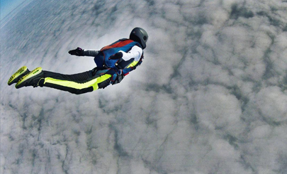 Как я стала парашютисткой?